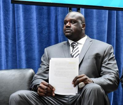 News of Bryant's death made Shaquille O'Neal sick