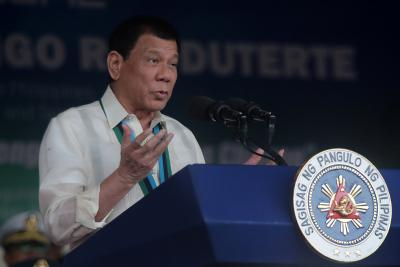 Philippines President accused of heading death squads