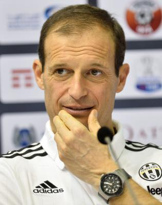 Juventus will go to London to play a final, says coach Allegri