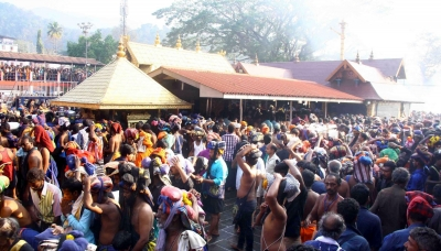 SC refers Sabarimala temple s ban on women to Constitution Bench (Lead)