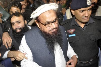 'Drama' of Hafiz Saeed's arrest and release enacted 8 times before: India