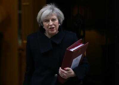 British PM calls snap election on June 8 (Second Lead)