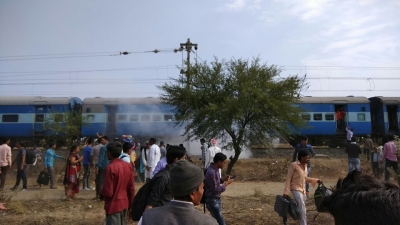 Four injured in MP train explosion