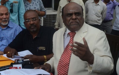 Justice Karnan terms warrant unconstitutional, directs CBI probe (Second Lead)