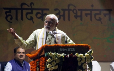 I am seeing a new India: Modi