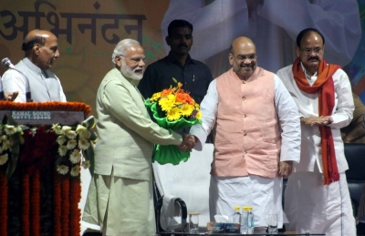 Uttar Pradesh is an  unprecedented  victory: Amit Shah
