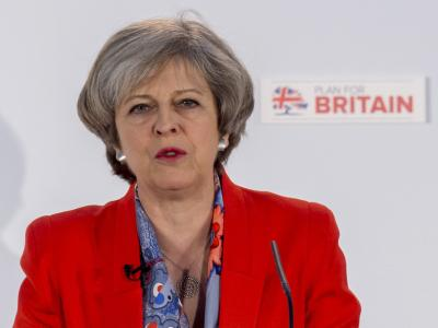 May says she d be  bloody difficult  during Brexit talks