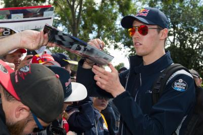 Russia will be proud of its F1 racer Kvyat