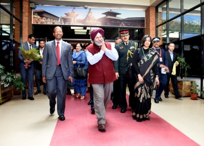 Indian embassy in Nepal felicitates families of martyred personnel