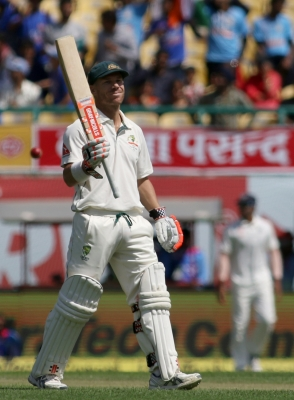 Fourth Test: Smith, Warner guide Australia to 131/1 at lunch vs India