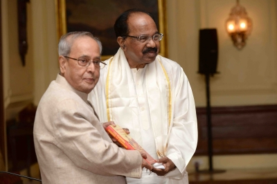 President releases Veerappa Moily s book