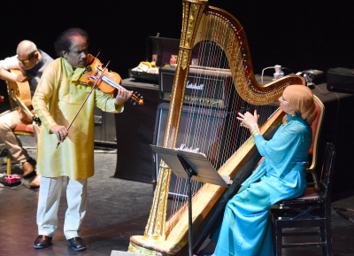 L. Subramaniam enthralls in Indo-Egyptian concert