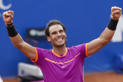 Madrid Open: Rafael Nadal lifts title to match Novak Djokovic's record