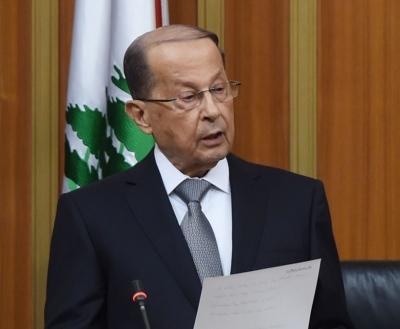 Lebanese Prez urges Int'l Support Group for financial assistance