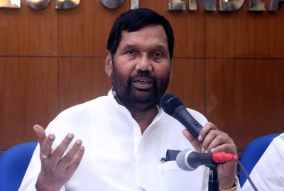 Paswan questions opposition over ignoring Ambedkar, Dalits