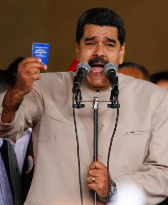 Majority reject Maduro s plan to amend Venezuelan constitution (Lead)