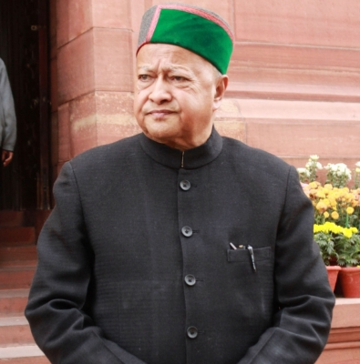Virbhadra accepts Congress  defeat in Himachal