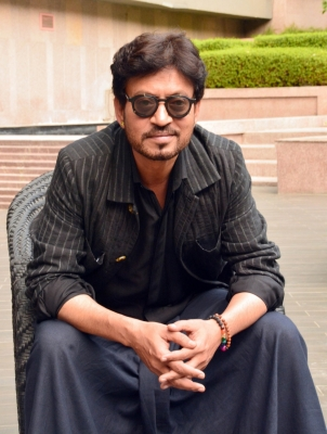 Irrfan Khan shooting for  Puzzle  in New York