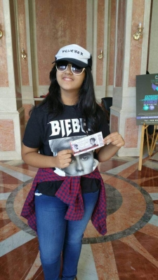 12-year-old fan flies alone to Mumbai for Bieber concert (With Image)