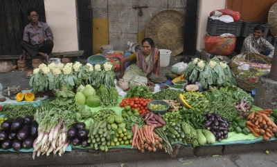 Vegetables stay hot despite winter season