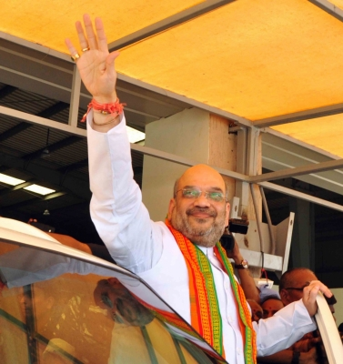 BJP will come to power in Telangana, says Amit Shah (Lead)