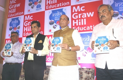 Rajnath launches Yearbook written by Home Secretary