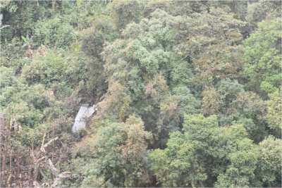 Wreckage of missing Sukhoi-30 found, no trace of pilots (Lead)