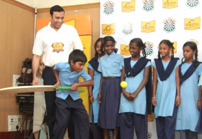 Laxman delighted to be part of P&G Shiksha programme