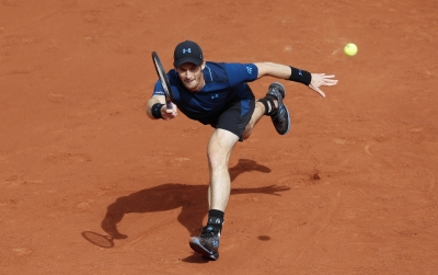 Murray advances to second round of French Open