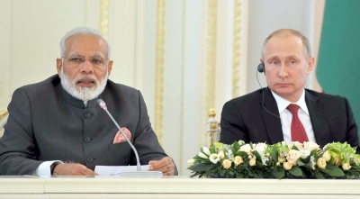 Modi to meet Putin amid US sanctions against Russia (Second Lead)