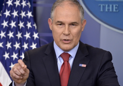 US to announce repeal of Obama s clean power plan (Lead)