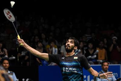 BAI announces cash reward for shuttler Srikanth