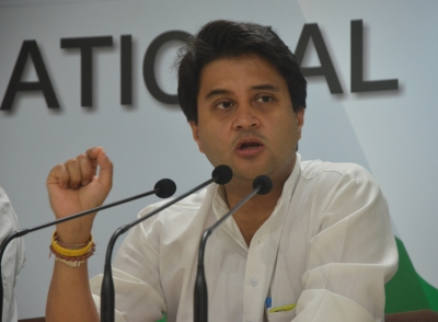 BJP MP alleges  threat to life  from Jyotiraditya Scindia