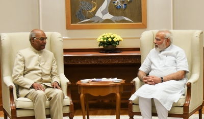 Kovind meets PM