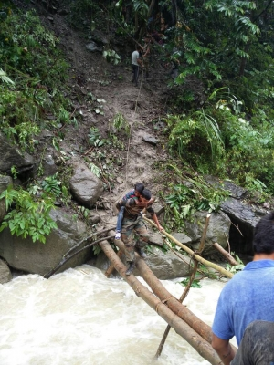 Army rescues 200 people from landslide site in Arunachal