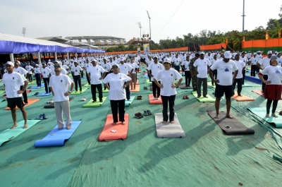 Ranchi gears up for International Yoga Day with PM Modi
