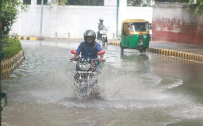 Delhi gets rainfall in patches on Monday, similar condition this week (Lead)