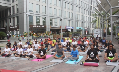 International Yoga Day celebrated in Chandigarh, Haryana