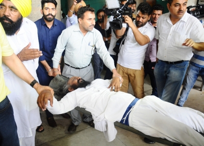 Punjab assembly ruckus leaves staff with broken arm