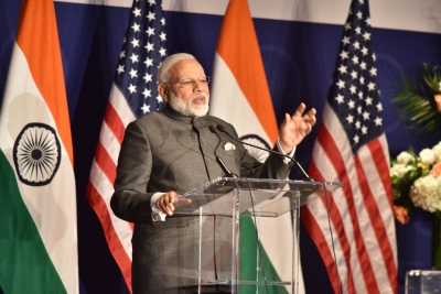 Dream of developed India will be fulfilled: Modi tells Indian diaspora