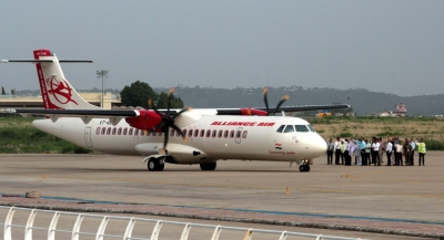Alliance Air operates proving flight to Kochi naval air base