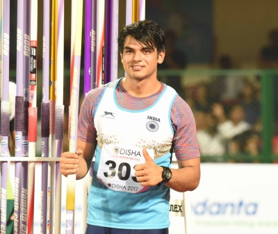 Javelin thrower Neeraj strikes gold at Sotteville athletics meet