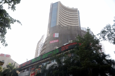 Sensex loses 208 points, Nifty ends at 12,106 (Lead)