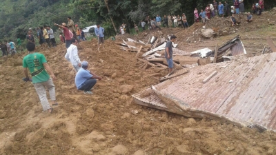 Five killed, nine missing in Arunachal landslide