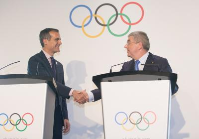 Los Angeles ready to organise Olympics in 2 months or 2 decades: Mayor
