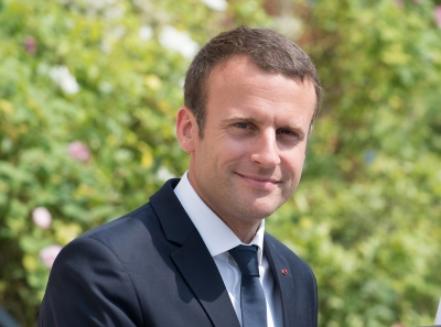 Convinced Trump to remain in Syria: Macron (Lead)