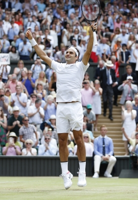 Federer rises to 3rd in ATP rankings after Wimbledon win, Murray keeps top spot