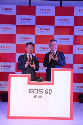 Canon launches  EOS 6D Mark II DSLR  camera in India
