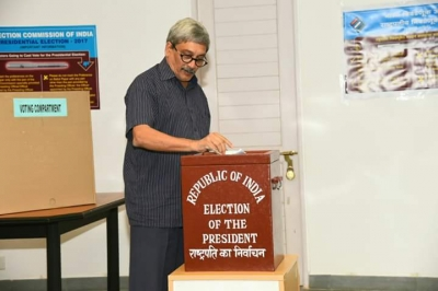 Presidential Election 2017: Goa Chief Minister Manohar Parrikar Has Cast His Vote