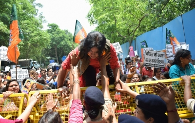 Mamata Banerjee stoking communal fire to stay in power: BJP